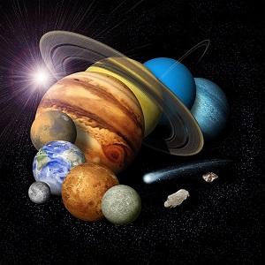 宇宙、惑星、地球