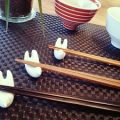 箸置き、茶碗