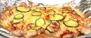 ウル得マンのチキンピザ