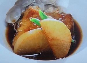 イタリアンのぶり大根のレシピ