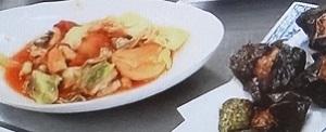 ウル得マンのあじの山芋磯辺揚げ&あじのトマト煮