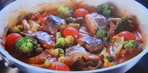 サバ缶トマトパッツァのレシピ