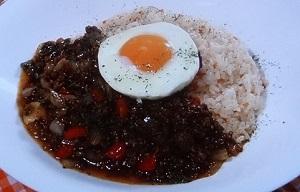 茂出木シェフのひき肉カレーのレシピ