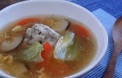 和田明日香の鶏だんごスープ