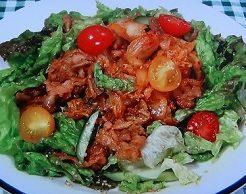 菅田さんの焼肉サラダのレシピ