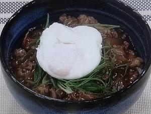 牛丼のレシピ
