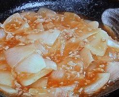 麻婆玉ねぎのレシピ