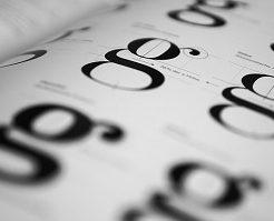 フォント、字