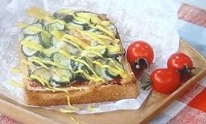 平野レミのきゅうりピザトースト