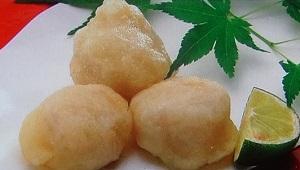 フェイク料理豆腐で白子