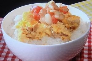 ツナ卵丼のレシピ