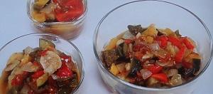トマト煮ラタトゥイユのレシピ