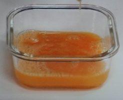 タマゴサンドの卵液
