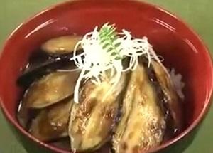 なすの蒲焼丼のレシピ