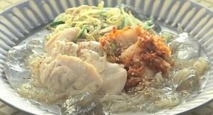 韓国冷麺風