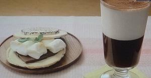 コーヒーゼリーとスモア