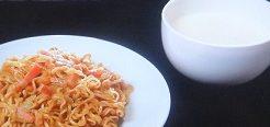 光浦靖子のカップ焼きそばアレンジレシピ
