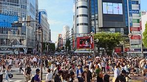 渋谷、東京、街