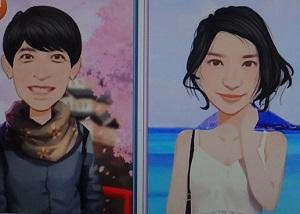 似顔絵風アプリ
