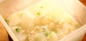 大根とカニ缶の煮物のレシピ