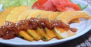 カボチャの生姜焼きのレシピ