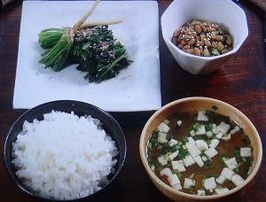 パクチーを使った和食ごはん