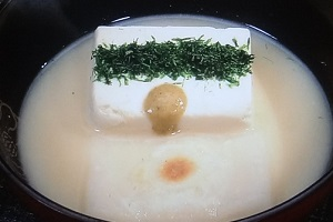 なじみ豆腐