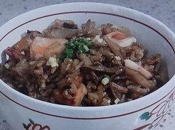 イカの炊き込みご飯のレシピ