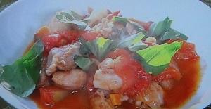 鶏ももトマト煮込み