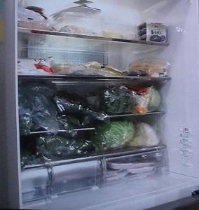佐藤秀美先生の冷蔵庫