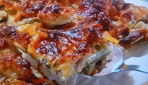 ピザ風カラフル焼き