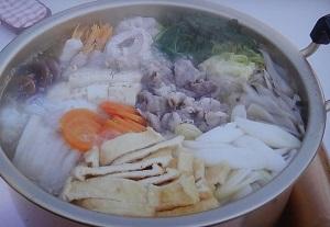 杉浦太陽さんの鍋