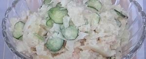 セロリのポテトサラダ