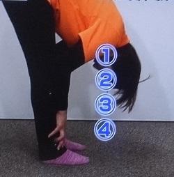 腰痛改善の骨ストレッチ