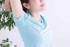 ストレッチ、体操、伸び
