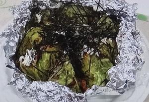 キャベツ丸ごと焼き