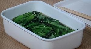 小松菜のだしびたし