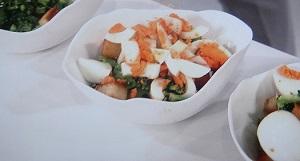 削りブロッコリーサラダ