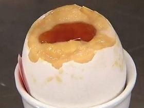 卵でプリン