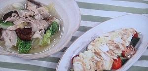 白菜鍋と棒棒鶏