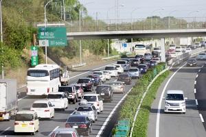 車、自動車、渋滞