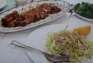 煮豚&サラダ