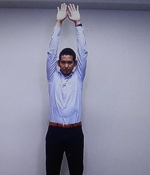 腹筋・胸筋トレーニング
