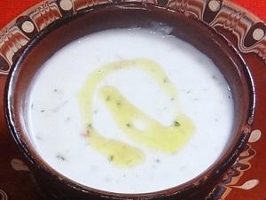 タラトル、スープ