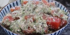 ネバネバオクラマグロ丼