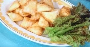 クリーミーたまごサモサのレシピ