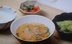 冷や汁スープ