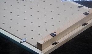 有孔ボードで収納インテリアボード