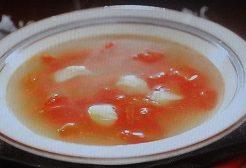 にんにくトマトスープ