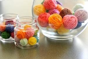 編み物、毛糸